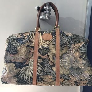 Tapestry overnight bag